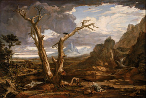Elijah in the Desert by Washington Allston, 1818